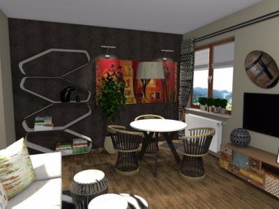 Salon w klimacie egzotycznym