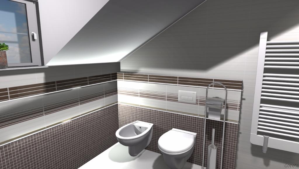 łazienka w beżach