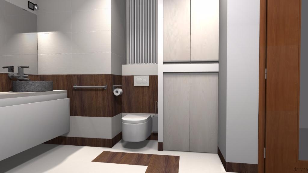 łazienka w stylu eko