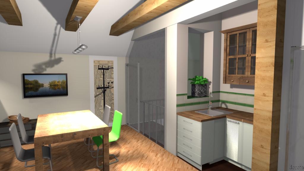 Mieszkanie na poddaszu 10