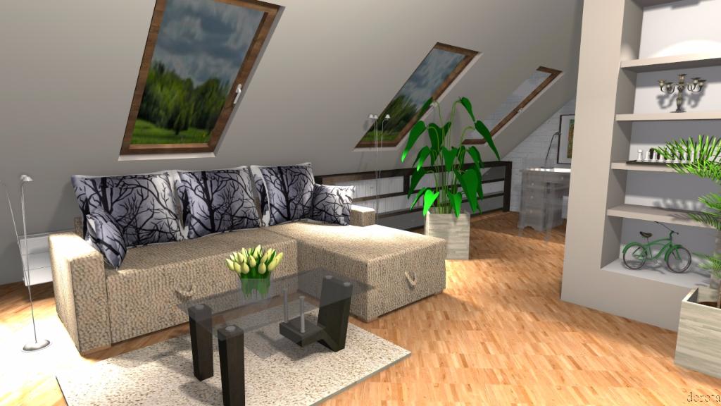 Mieszkanie na poddaszu