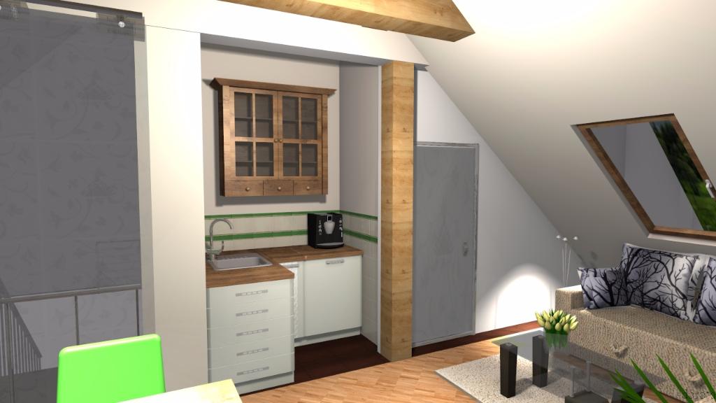 Mieszkanie na poddaszu 1