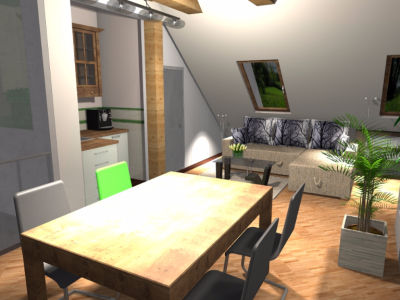 Mieszkanie na poddaszu 5