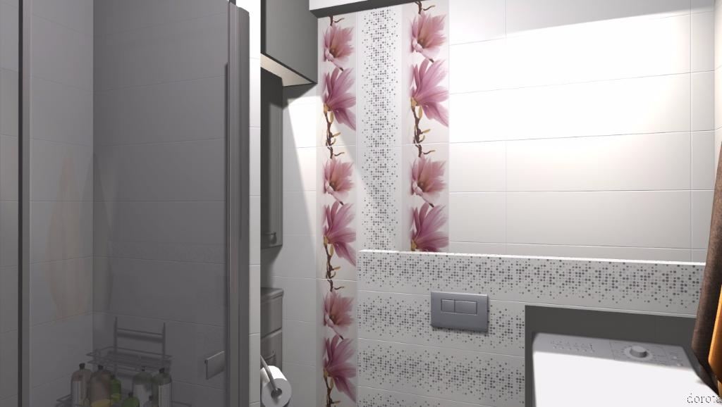 Niewielka łazienka w bloku