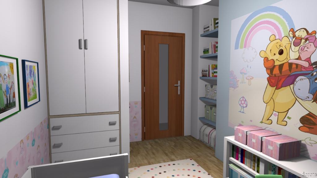 Pokój dla małej dziewczynki