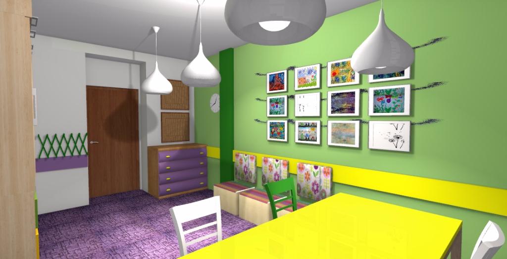 Projekt świetlicy szkolnej