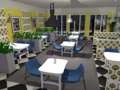 Projekt restauracji
