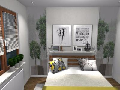 Sypialnia w klimacie etno