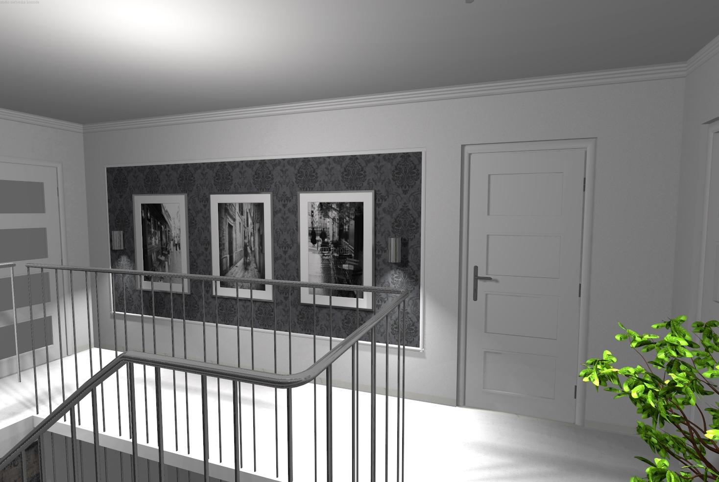 korytarz glamour