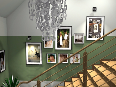 Projekt korytarza w domu jednorodzinnym