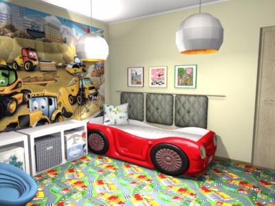 Projekt pokoju dla małego chłopca