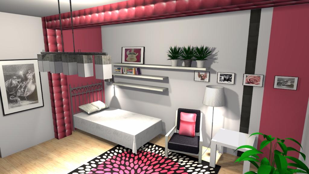 Sypialnia nastolatki