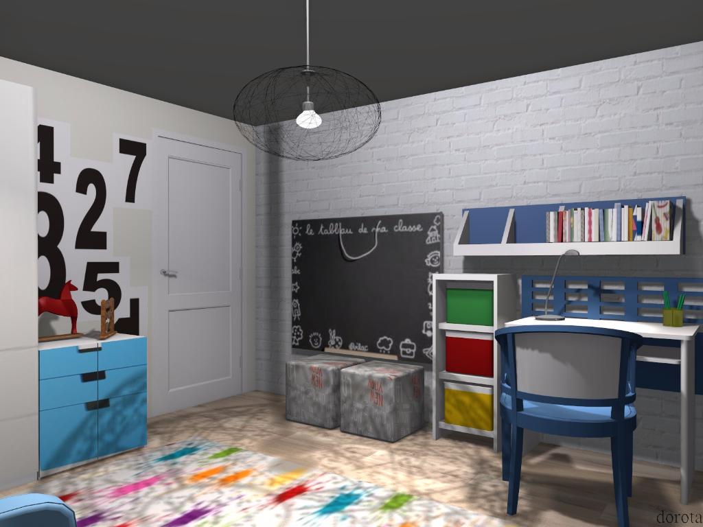 Pokój dla małego chłopca