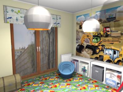Projekt pokoju dla małego chłopca 1
