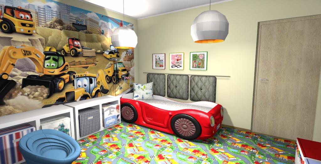 Projekt pokoju dla małego chłopca 3