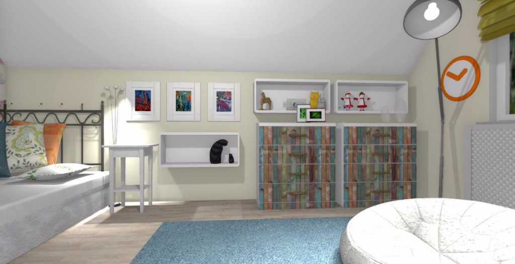 Sypialnia dla dziewczynki