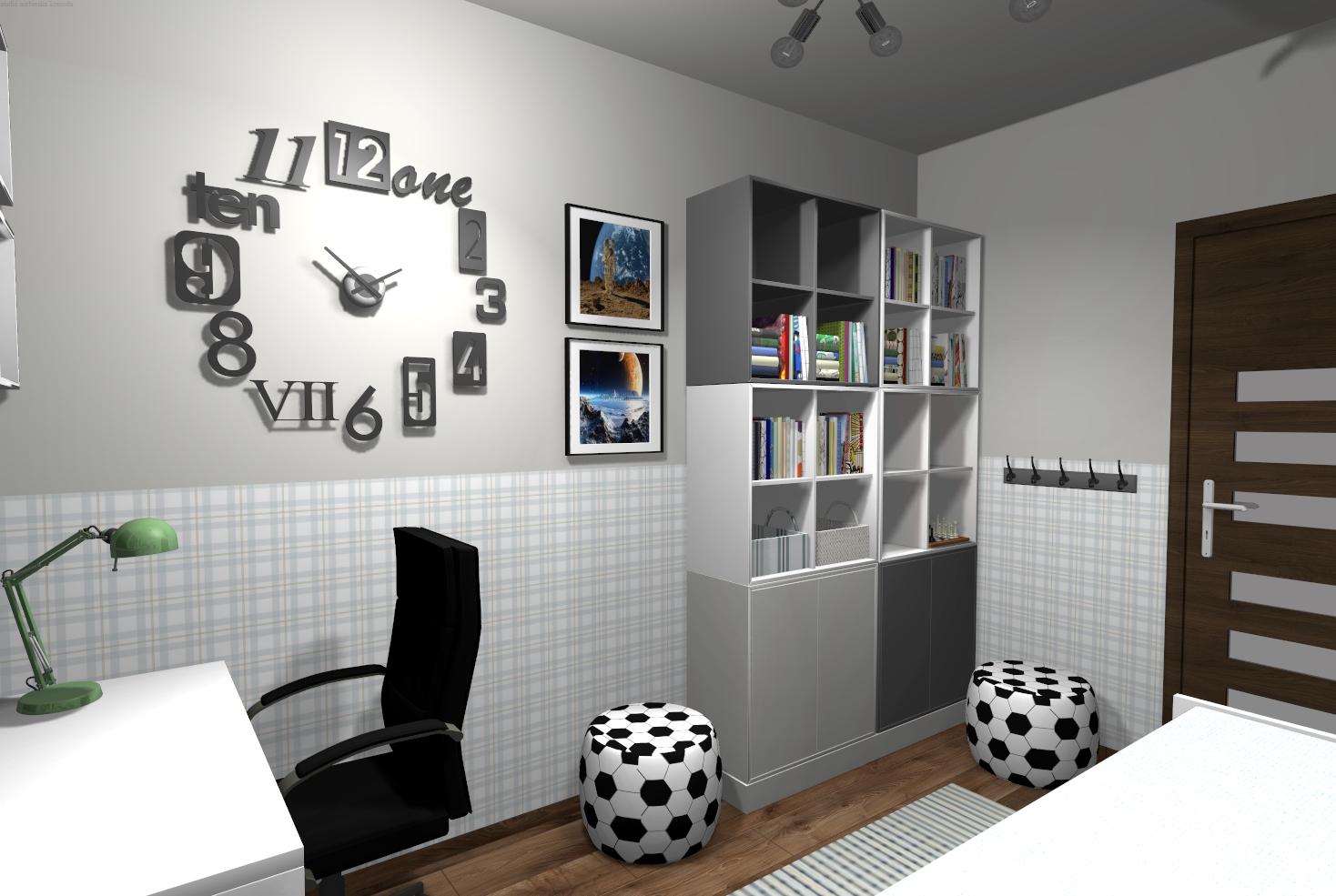 Pokój chłopca  projekt online