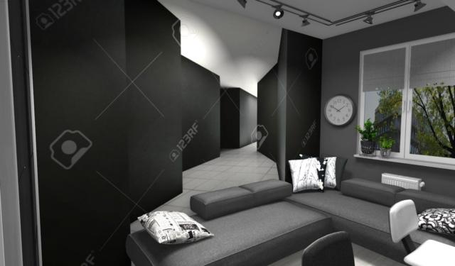 Pokój nastolatków z fototapetą