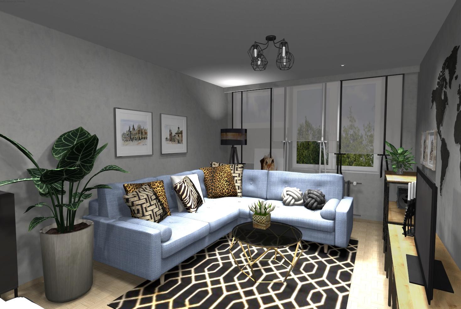 Przytulne nowoczesne mieszkanie