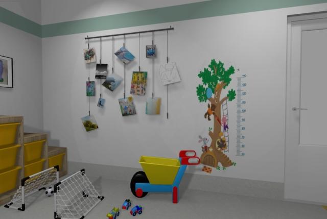 Sala starszych dzieci w żłobku